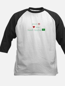 Peace Love & Saudi Arabia Tee