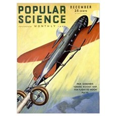 Popular Science Cover, December 1931 Poster