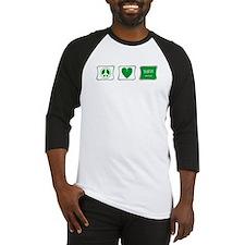 Peace Love & Saudi Arabia Baseball Jersey