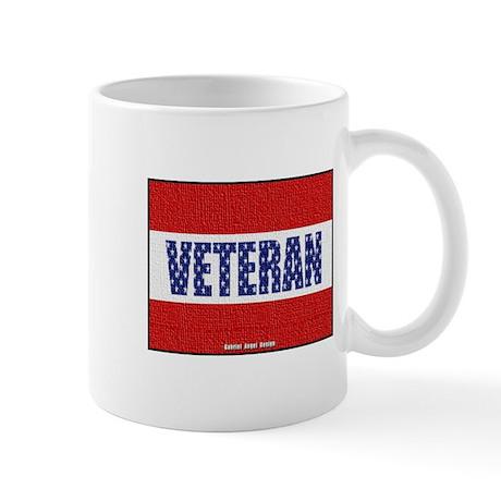 Veteran Flag Banner Mug