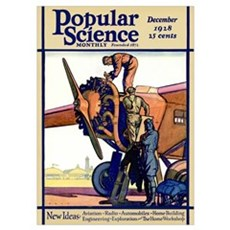 Popular Science Cover, December 1928 Poster