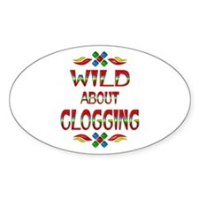 Wild About Clogging Decal