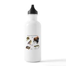 Kansas State Animals Water Bottle