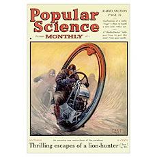 Popular Science Cover, December 1924 Poster