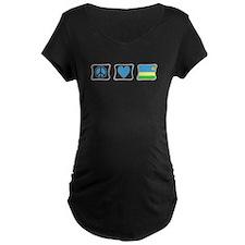 Peace Love and Rwanda T-Shirt