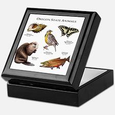 Oregon State Animals Keepsake Box