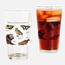 Oregon State Animals Drinking Glass