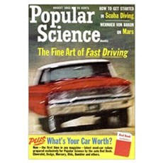 Popular Science Cover, August 1963 Canvas Art