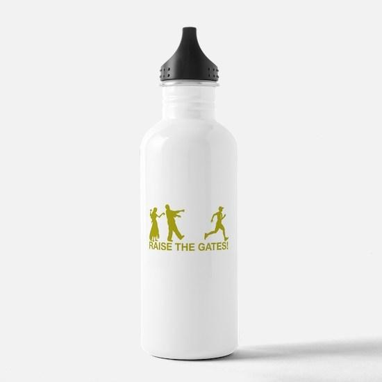 Raise the Gates Runner Sports Water Bottle