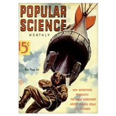 Popular Science Cover, August 1938 Poster