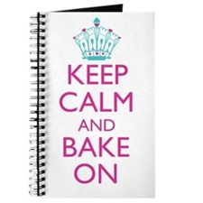 Keep Calm and Bake On Journal