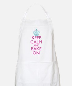 Keep Calm and Bake On Apron