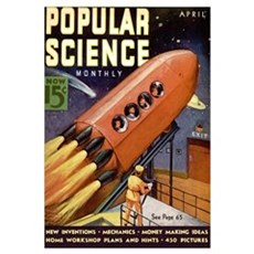 Popular Science Cover, April 1938 Canvas Art