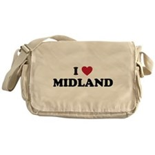 I love Midland Texas Messenger Bag