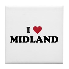 I love Midland Texas Tile Coaster