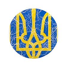 "Ukraine Lesser Coat Of Arms 3.5"" Button (100 pack)"