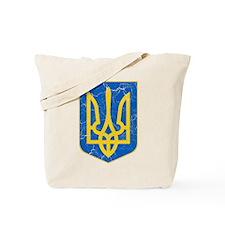 Ukraine Lesser Coat Of Arms Tote Bag