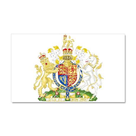 United Kingdom Coat Of Arms Car Magnet 20 x 12