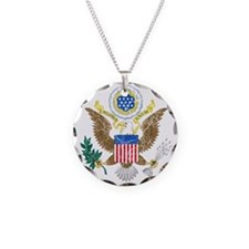 United States Coat Of Arms Necklace