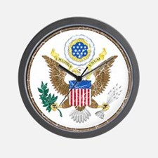 United States Coat Of Arms Wall Clock