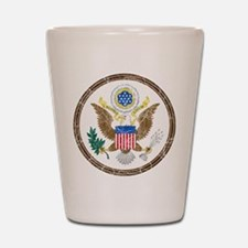United States Coat Of Arms Shot Glass