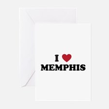 I Love Memphis Tennessee Greeting Cards (Pk of 20)