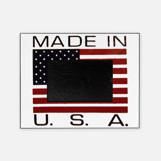 MADE IN USA VII.jpg Picture Frame