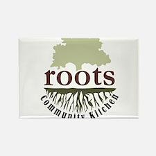 Roots Community Kitchen Logo Rectangle Magnet