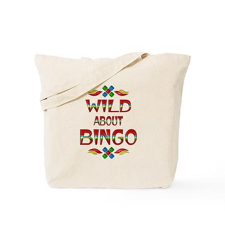 Wild About BINGO Tote Bag