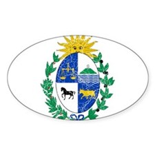 Uruguay Coat Of Arms Decal
