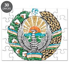 Uzbekistan Coat Of Arms Puzzle