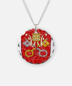 Vatican City Coat Of Arms Necklace