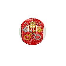 Vatican City Coat Of Arms Mini Button