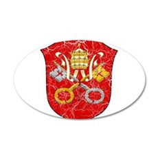 Vatican City Coat Of Arms Wall Decal
