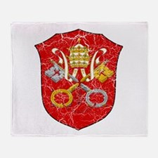 Vatican City Coat Of Arms Throw Blanket