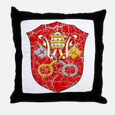 Vatican City Coat Of Arms Throw Pillow