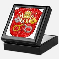 Vatican City Coat Of Arms Keepsake Box