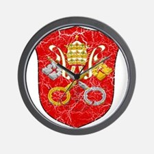 Vatican City Coat Of Arms Wall Clock