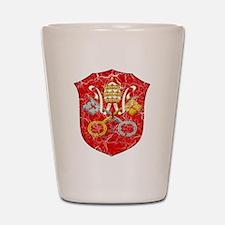 Vatican City Coat Of Arms Shot Glass