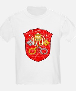 Vatican City Coat Of Arms T-Shirt