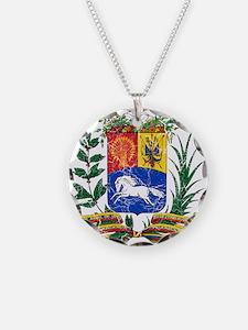 Venezuela Coat Of Arms Necklace