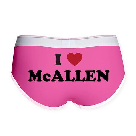 I Love McAllen Texas Women's Boy Brief