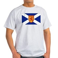 St Andrews Cross Royal Lion Shield 2 T-Shirt
