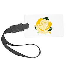 TeaTime Rose Luggage Tag