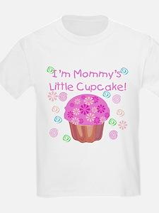 Mommy's Little Cupcake Kids T-Shirt