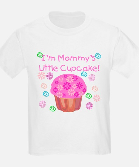 Mommy's Little Cupcake Kids T-Shirt