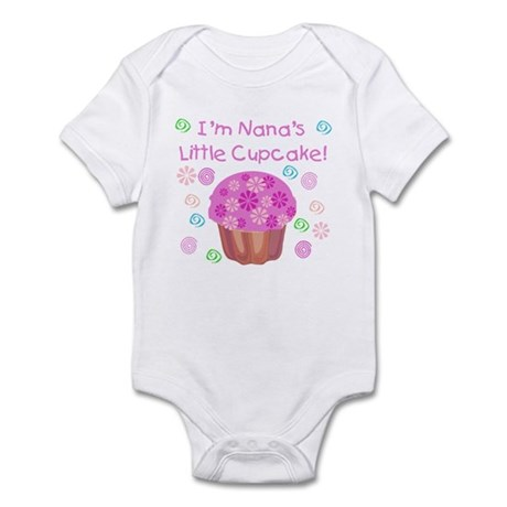 Nana's Little Cupcake Infant Creeper