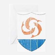 Anguilla Coat Of Arms Greeting Card
