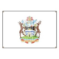 Antigua and Barbuda Coat Of Arms Banner