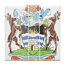 Antigua and Barbuda Coat Of Arms Tile Coaster